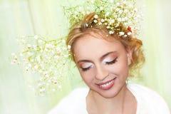 A beautiful young girl. Stock Photos