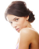 Beautiful young girl with clean skin Royalty Free Stock Images