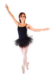 Beautiful young girl dancing ballet. Stock Photos