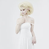 Beautiful young girl elf royalty free stock photo