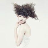 Beautiful young girl elf Stock Photo