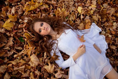 Beautiful young girl stock images