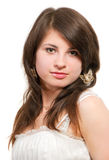 Beautiful young girl portrait Royalty Free Stock Photo