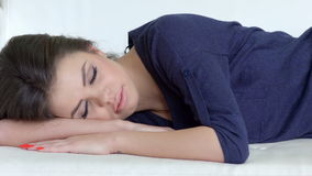 Beautiful Young Girl Sleeping Royalty Free Stock Photo