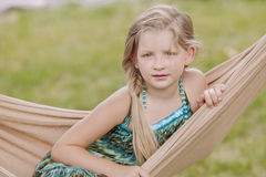 Beautiful young girl Stock Photography