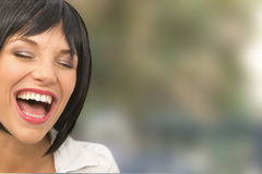 Beautiful Young Girl With a Toothie Smile Stock Photography