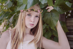 Beautiful young girl Royalty Free Stock Photos