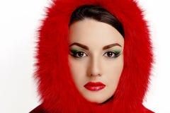 Woman make up beauty Stock Image