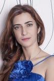 Beautiful young glamourous woman Stock Photos