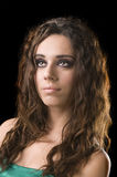 Beautiful young Greek girl Stock Image