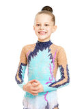 Beautiful young gymnast Royalty Free Stock Photography