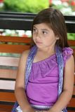 Beautiful young hispanic girl Royalty Free Stock Image
