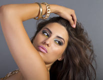 Beautiful Young Hispanic Woman Stock Photos