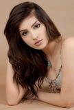 Beautiful Young Hispanic Woman stock images