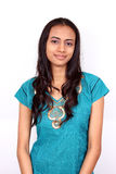 Beautiful young Indian girl. Royalty Free Stock Photo
