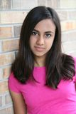 Beautiful young indian girl Royalty Free Stock Photos