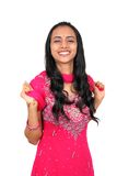 Beautiful young Indian girl. Royalty Free Stock Photography