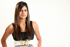 Beautiful Young Indian Lady Stock Photo