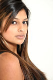 Beautiful Young Indian Lady Royalty Free Stock Image