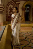 Beautiful young indian woman in traditional clothing with bridal Stock Images