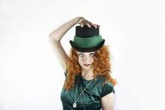 Beautiful young irish woman Stock Photo