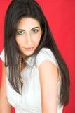 Beautiful young Italian woman Royalty Free Stock Photography