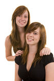 Beautiful young ladies Royalty Free Stock Image