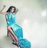 Beautiful young lady Stock Photo