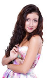 Beautiful young lady Stock Photography