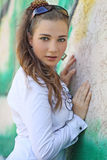 Beautiful young lady Royalty Free Stock Photos