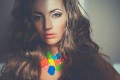 Beautiful young lady Stock Image