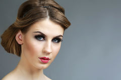 Beautiful young lady Royalty Free Stock Images