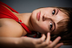 Beautiful young lady portrait Royalty Free Stock Photography
