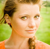 Beautiful young lady portrait Royalty Free Stock Image