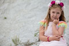 Super cute girl Stock Photography