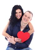 Beautiful young love couple Stock Photography