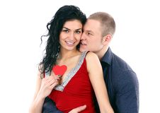 Beautiful young love couple Stock Photo