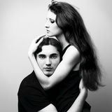Beautiful young lovers Royalty Free Stock Photos
