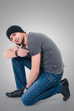 Beautiful young man Royalty Free Stock Photos