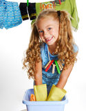 Beautiful Young mistress... Royalty Free Stock Images
