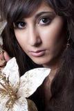 Beautiful young model Stock Photos