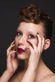 Beautiful young model Stock Photo