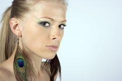 Beautiful young model Stock Image
