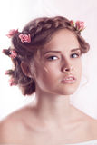 Beautiful Young model Royalty Free Stock Images