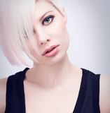 Beautiful Young Model Royalty Free Stock Photography