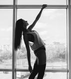 Beautiful young model posing Stock Images