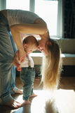 Beautiful young mother with baby Royalty Free Stock Image