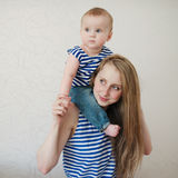 Beautiful young mother with baby Royalty Free Stock Photo