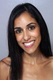 Beautiful Young Multiracial Woman Headshot (1) Stock Photography