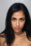 Beautiful Young Multiracial Woman Headshot (4) Royalty Free Stock Image